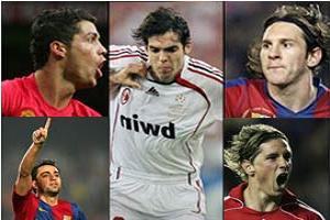 Dünyanın en iyi 5 futbolcusu.15761