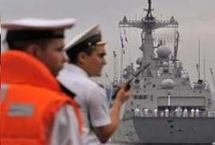 Rus gemileri Nikaragua açıklarında.9689