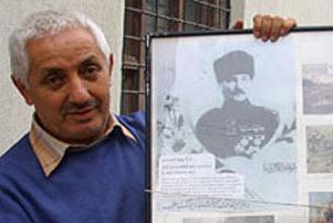 Atatürk'ten Peygamber'e saygı kartpostalı.11084