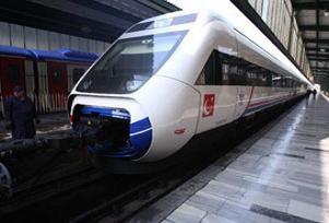 Hızlı tren 13 Mart'ta hizmete giriyor.12709