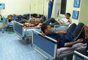 Eskişehir'de 10 kişi hastanelik oldu.13515