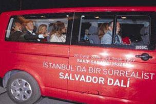 Salvador Dali'yi üç ayda 156 bin ziyaretçi.14568