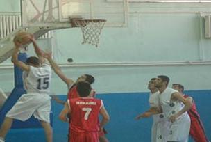 Hakkari'de basketbol heyecanı.10045