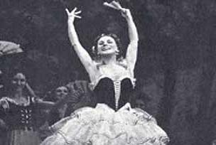 Bolşoy Balesi Olga yası tutuyor.10817