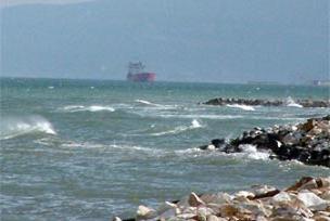 Çanakkale Boğazı'nda gemi arızası.10971