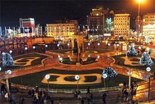 Taksim Meydan�, yeni y�la haz�r.18400