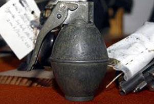 Van'da poşet içinde el bombası bulundu.11742