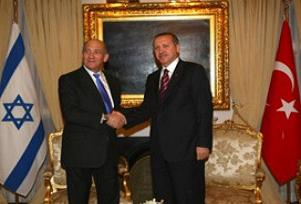 Erdoğan ve Olmert 5 saat görüştü.12843