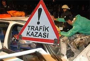 Aksaray'da trafik kazası: 2 ölü 1 yaralı.16674