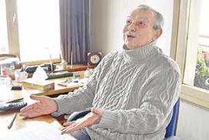 Kültür Bakanlığının ödülü Çetin Altan'a.13669