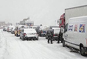 Kar ulaşımı olumsuz etkiliyor!.11565