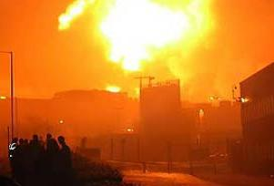 Gaz patlamasında ölü sayısı 26 oldu.6675