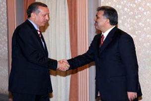 Gül, Erdoğan'la 1 saat görüştü.10691