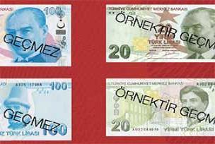 TL banknotlardaki güvenlik özellikleri.16263