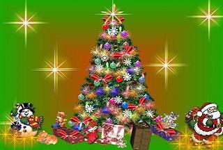 Yılbaşı ağacı dilek ağacı gibi oldu.17268