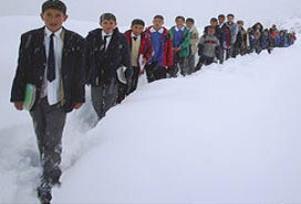 Ordu'da eğitime 1 gün kar tatili!.8739