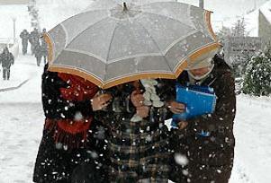 Etkili kar yağışı geri geliyor <blink>Haritalı</blink>.16707