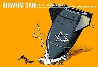 Karikatüristler katil İsrail'i böyle çizdi.14011