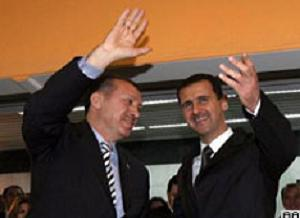Erdoğan ve Esad ortak çağrı yaptı.9795
