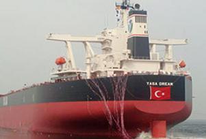 T�rk band�ral� gemisi karaya oturdu.8945
