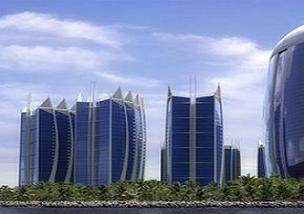 İstanbul'a 41 katlı dördüz gökdelen.11733