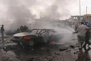 Irak'ta kamikaze dehşeti: 30 ölü.10891
