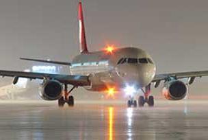 Esenboğa'da arıza, uçaklar inemiyor.8134