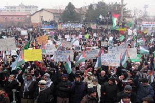 Diyarbakır'da 50 bin kişi meydana indi.16963