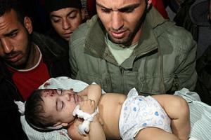 Gazze'de 1200 kişi hayatını kaybetti.13713