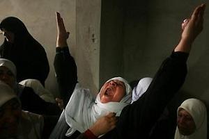 İsrail Gazze'de 4 Filistinli öldürdü.8249