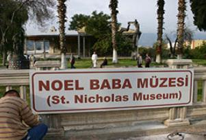 Noel Baba m�zesine yo�un ilgi.16209