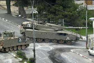 İsrail yanlışlıkla kendi tankını vurdu.14843