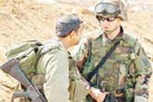 Gazze'de bir �srail askeri �ld�.13347