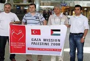 Gazze'ye girecek doktorlara izin yok.14872