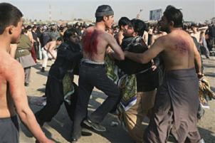 Afganistanlı Şiiler oluk olur kan akıttı.15841