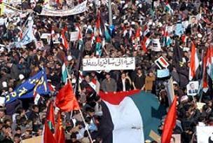 Filistin'e destek için dev miting yapıldı.23206