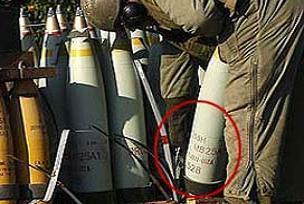 İsrail'in fosfor bombasının belgesi.18556