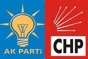 Otoparkta AKP-CHP savaşı başladı.11781