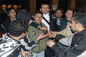 BJK yöneticilerine Aydın protestosu.15824