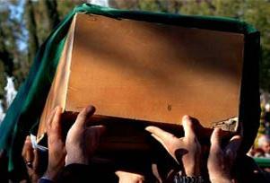 Şehit Pilot'un cenazesi toprağa verildi.11786