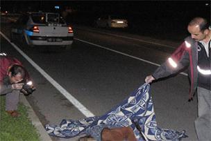 Beşiktaş'ta trafik kazası meydana geldi.11872