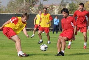 Futbolcular Antalya için can atıyor.14935