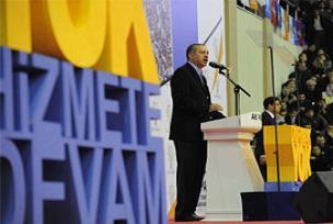 Erdoğan başkan adaylarını açıkladı.12666