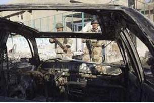 Bağdat'ta bombalı saldırı: 1 kişi öldü.15269
