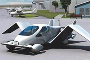 Dünyanın ilk uçan otomobili hazır!.12171