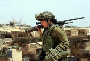 İsrailli askerden alkışlanacak davranış.12741