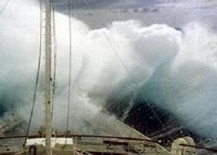 Fırtına Fransa'yı yerle bir etti: 5 ölü.10326