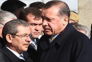 Erdoğan, Şener'e selam bile vermedi.12675