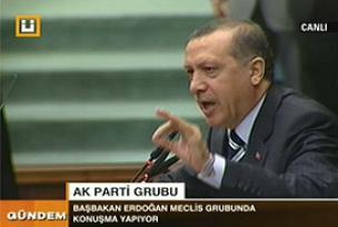 Erdoğan'dan Baykal'a çete sorusu.10384
