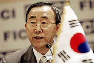 Ban Ki Moon konuşuyor İsrail takmıyor.11667